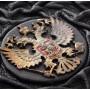 """Книга """"Россия. Великая судьба"""" в коробе шкатулке и кожаном переплете"""