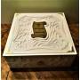 Медицина в искусстве в коробе в кожаном переплете ручной работы