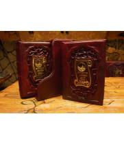 История Афона в двух томах, в футляре, в кожаном переплете ручной работы