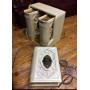 Книги малого формата в футляре в кожаном переплете ручной работы